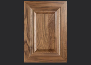 Mitered Cabinet Door M101 MW7-RP1 in Walnut, Select