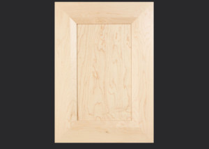 Mitered Cabinet Door M101 MW8-FP1/4 in Hard Maple, Select