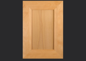 Mitered Cabinet Door M101 MW9-FP1/4 in Beech, Select and 5-piece drawer front with MW9-D