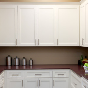 Cabinet with full overlay construction