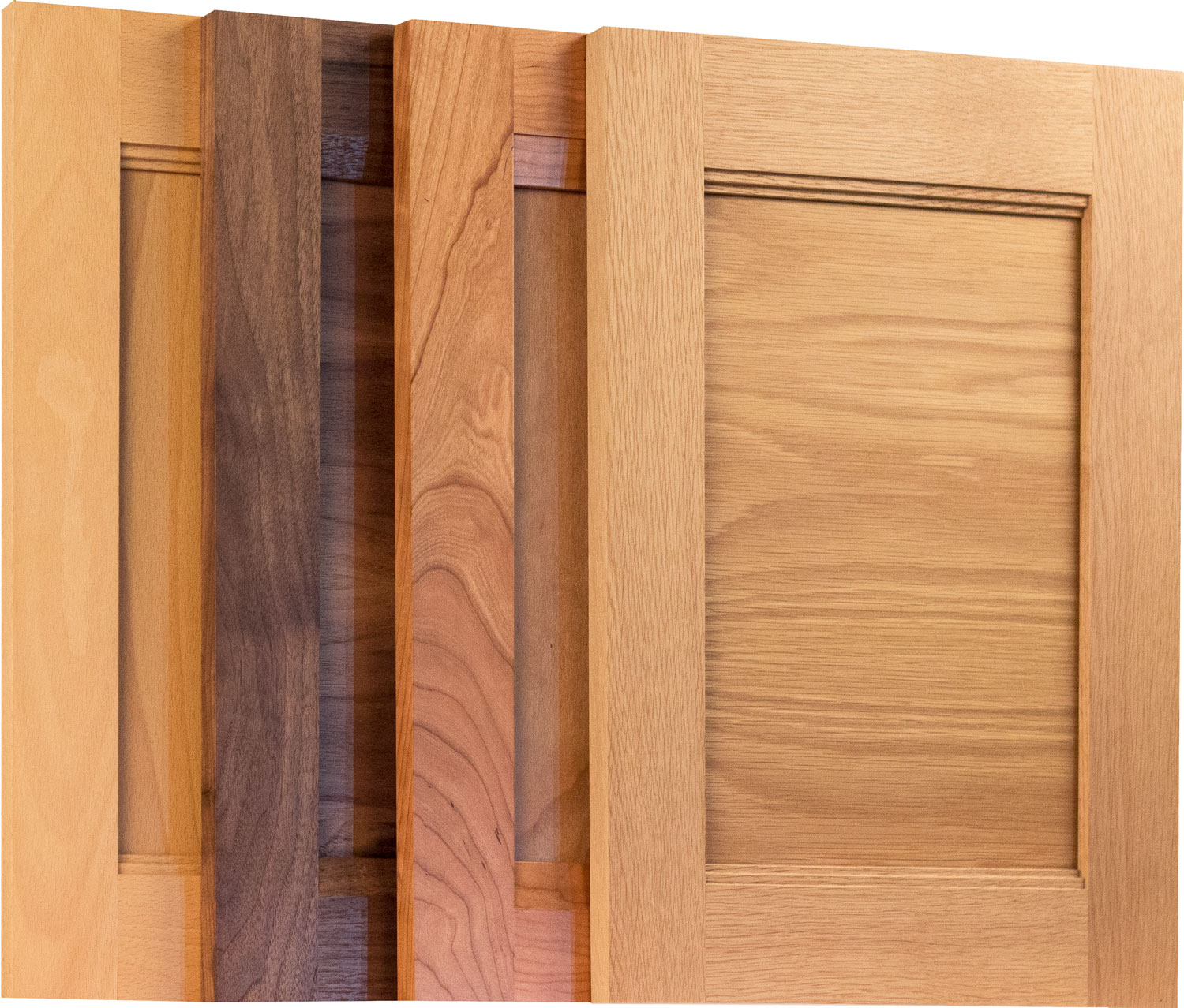 Transitional Combination Frame Cabinet Doors Taylorcraft