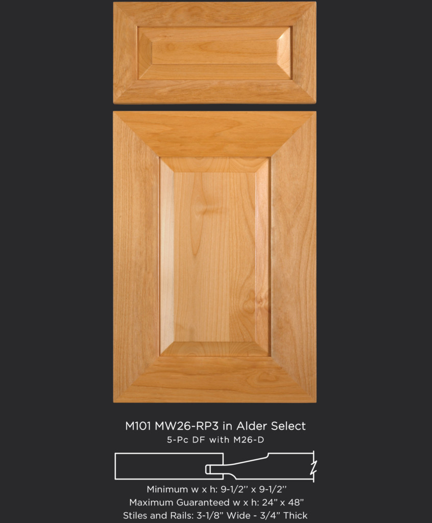 M101 Mw26 Rp3 Alder Select Taylorcraft Cabinet Door Company