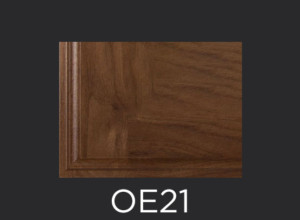 OE21 cabinet door outside edge profile photo
