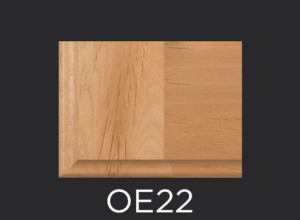 OE22 cabinet door outside edge profile photo