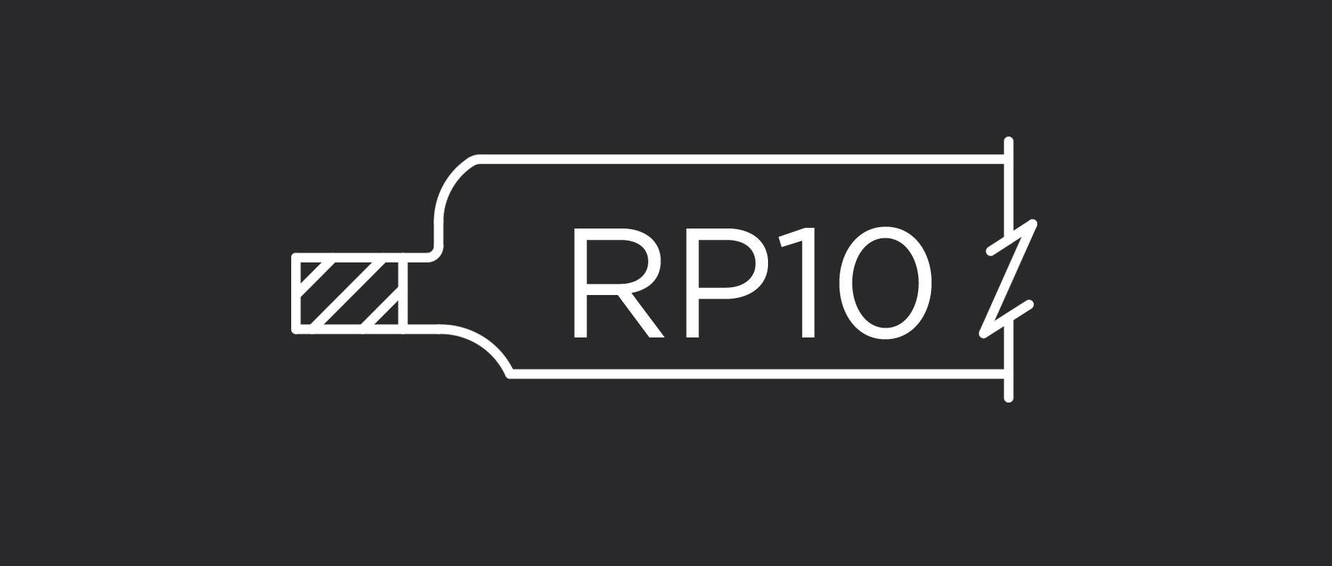 RP10 cabinet door panel profile
