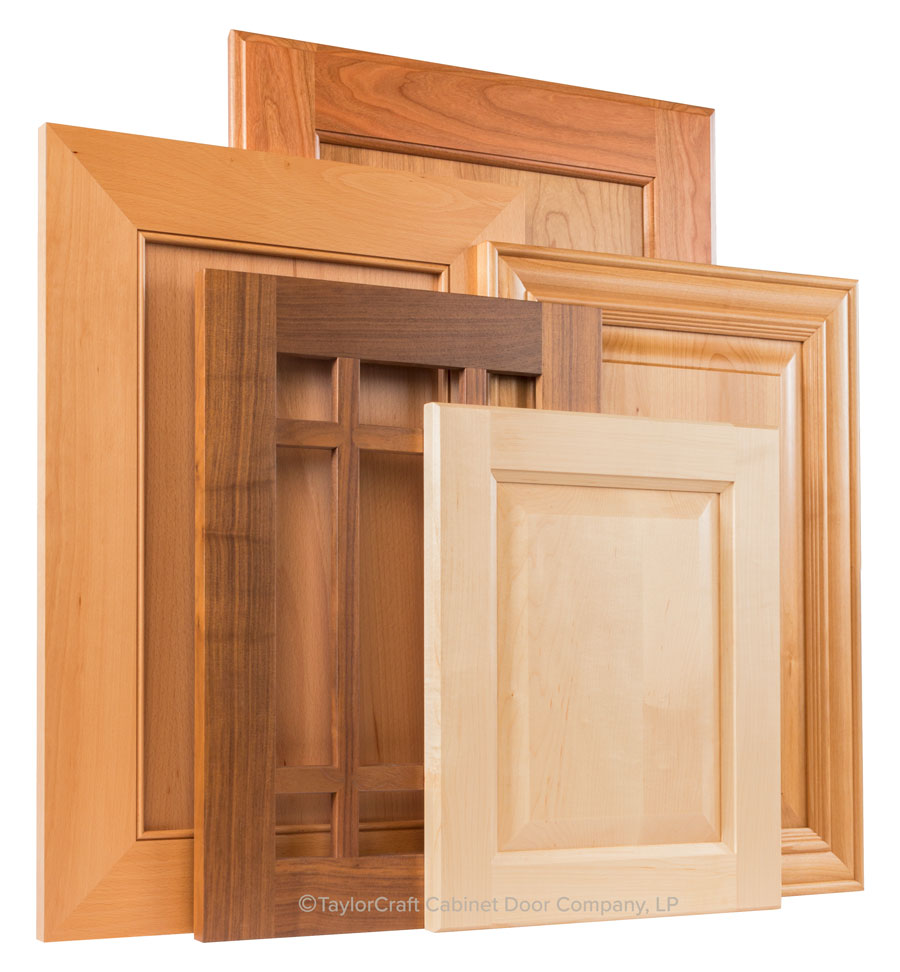 TaylorCraft cabinet doors easy to clean