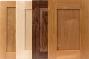 TaylorCraft shaker style cabinet doors with alternative, beveled IE9 inside edge