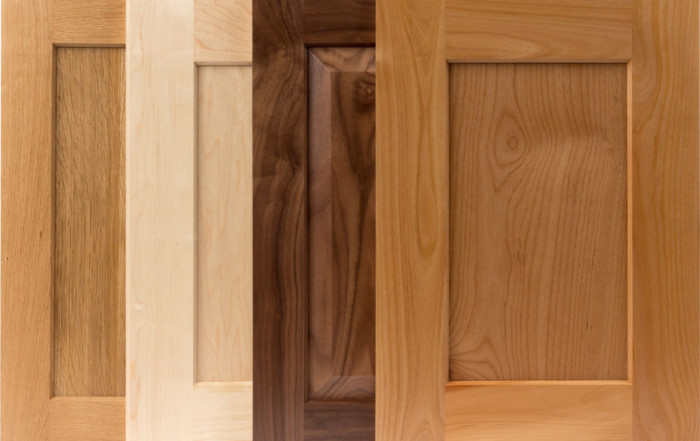 TaylorCraft shaker style cabinet doors with alternative, beveled IE9 inside edge