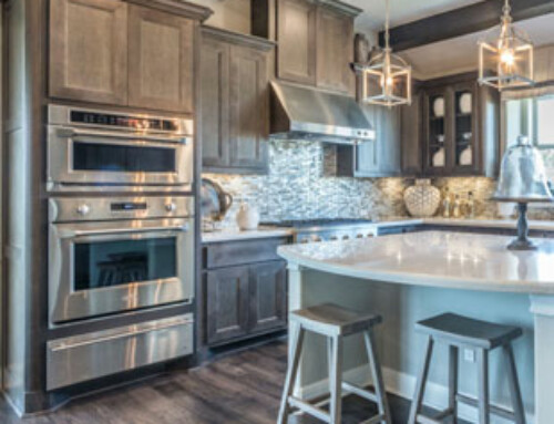 KBIS Trends Combined – Natural Wood with Gray Stain