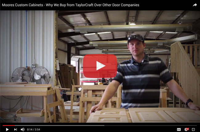 Moore's Custom Cabinets' Customer Review - Why they chose TaylorCraft Cabinet Door Company