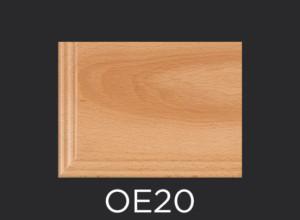 OE20 cabinet door outside edge profile photo