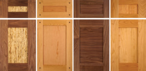 TaylorCraft Cabinet Door Company Shaker Alternatives With Different Panel  Material, Corner Pegs, Panel Grooves