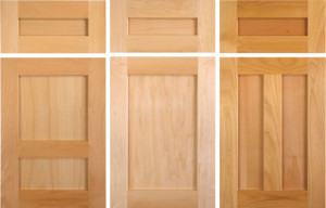 standard shaker cabinet doors from taylorcraft cabinet door company