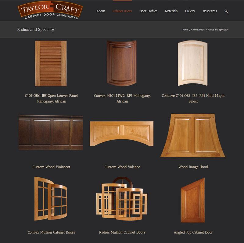 sc 1 st  TaylorCraft Cabinet Door Company & Radius Cabinet Doors and Specialty - TaylorCraft Cabinet Door Company pezcame.com